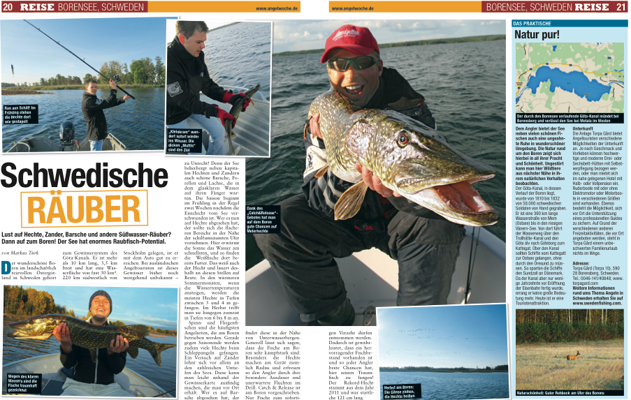 The Greatest Angling Country In Europe Swedenfishing